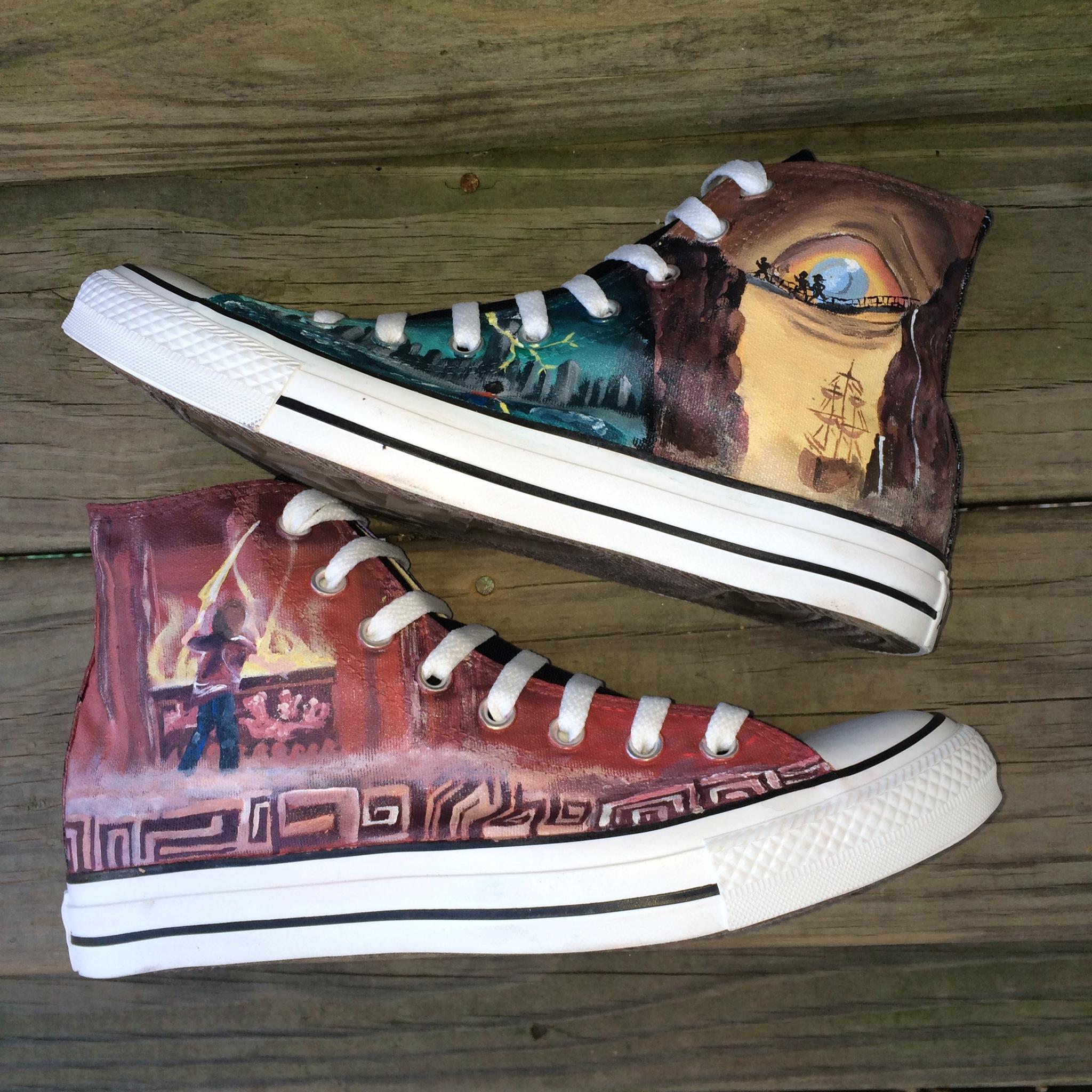 Percy Jackson Converse