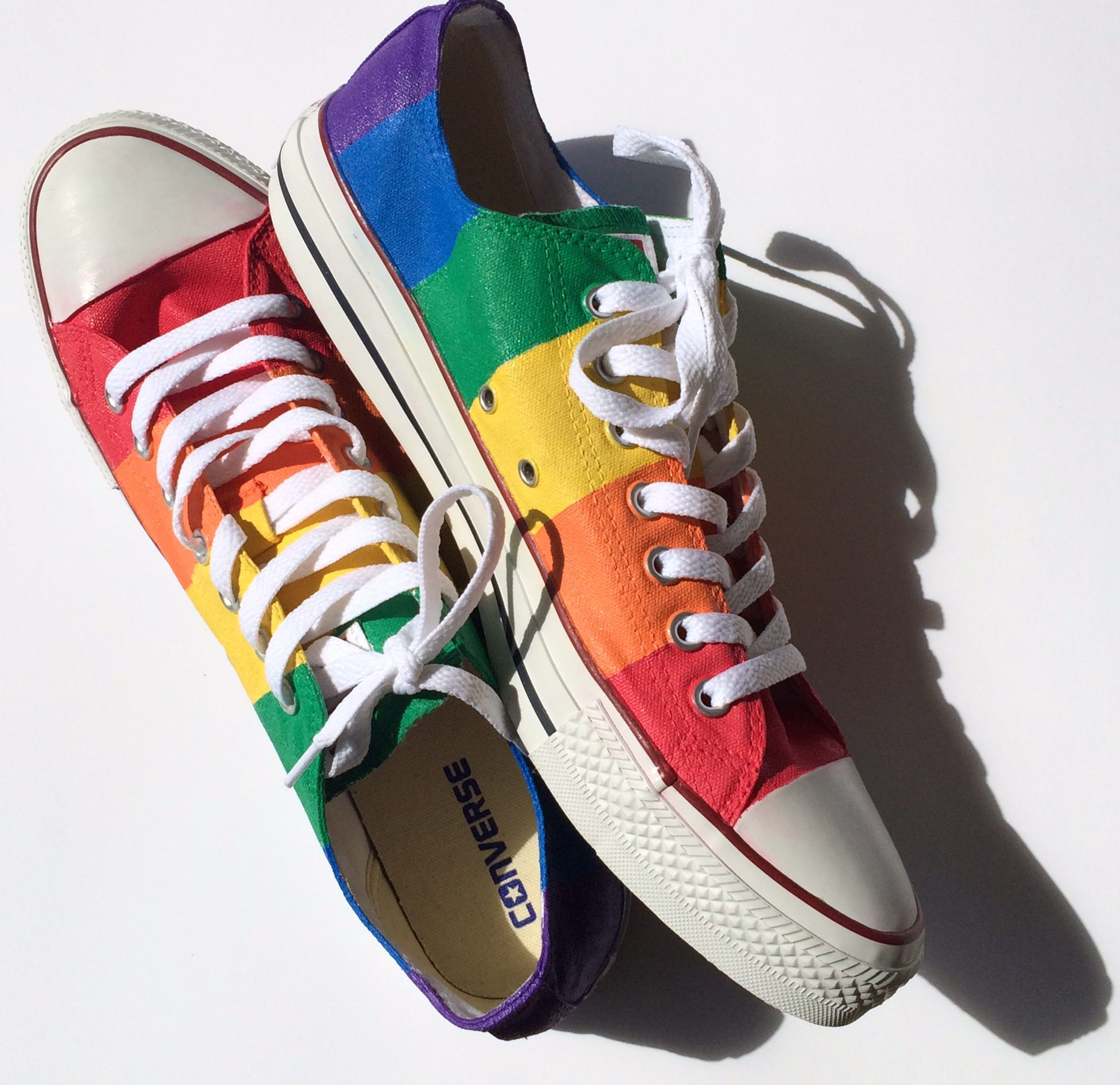 53344b738284 Rainbow Gay Pride Converse Low Top