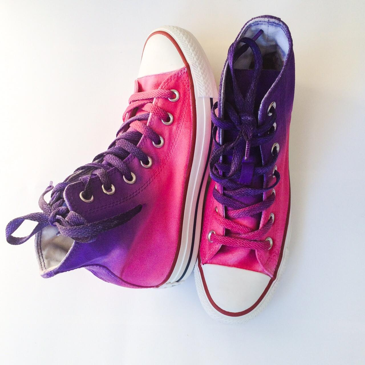 351f1e39aa Dip Dye Tie Dye Converse