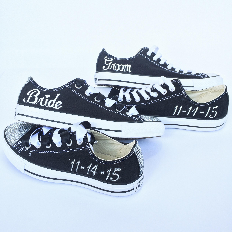 Bride Groom Converse