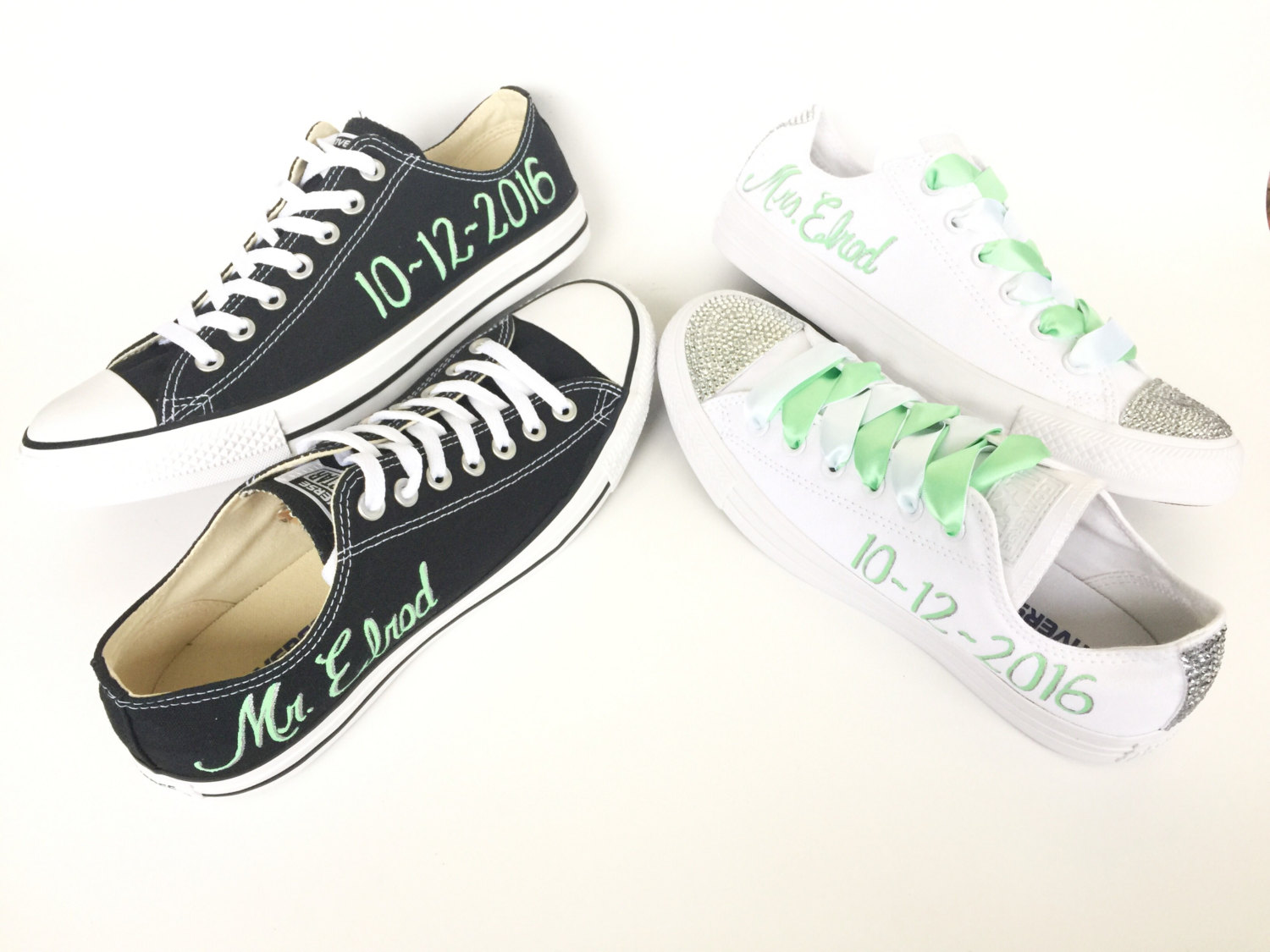 1ec8dde416 LLC amp; Design Sposo Sposa Custom Intellexual Converse ...