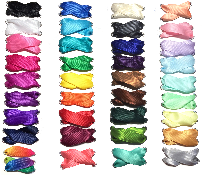 Satin Ribbon Shoelaces Intellexual Design Llc Custom